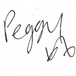 Peggy signature transparent