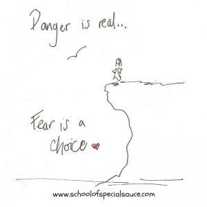 Fear is a choice Social Media