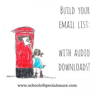 Build your email list with audio downloads