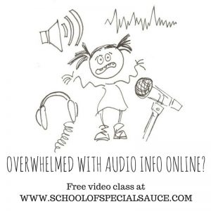 OVERWHELMED WITH AUDIO INFO ONLINE